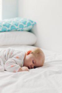 baby with perfect sleep