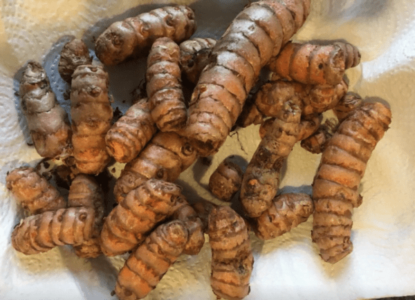 Turmeric has powerful anti-inflammatory effects and is a very strong antioxidant.